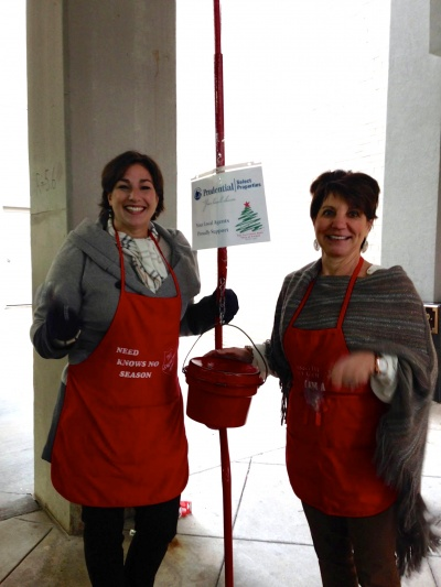 Prudential Select Properties Salvation Army Bell Ringing Day