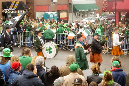 Dogtown St. Patrick's Day Parade